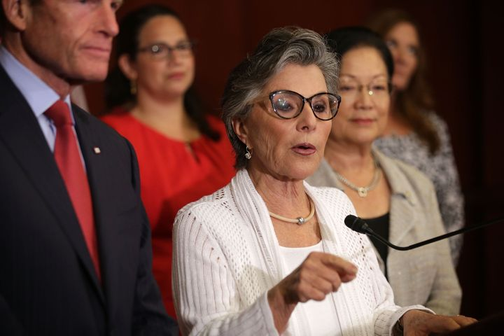 Sen. Barbara Boxer (D-Calif.) came out in support of a nuclear deal with Iran on Tuesday, saying a presentation from foreign