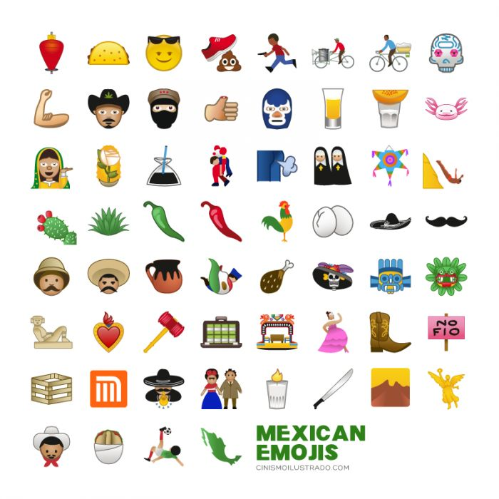 Say ¡Hola! To These Awesome 'Mexican Emojis'
