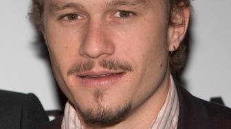 Heath Ledger during Brokeback Mountain New York City Premiere - Inside Arrivals at Loews Lincoln Center in New York City, New York, United States. (Photo by Lawrence Lucier/FilmMagic)