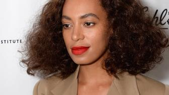 NEW YORK, NY - JUNE 25:  Solange Knowles attends NYC Pride and Kiehl's Since 1851's celebration of Pride Week 2015 at Kiehl's Since 1851 Flagship Store on June 25, 2015 in New York, New York.  (Photo by Andrew Toth/FilmMagic)