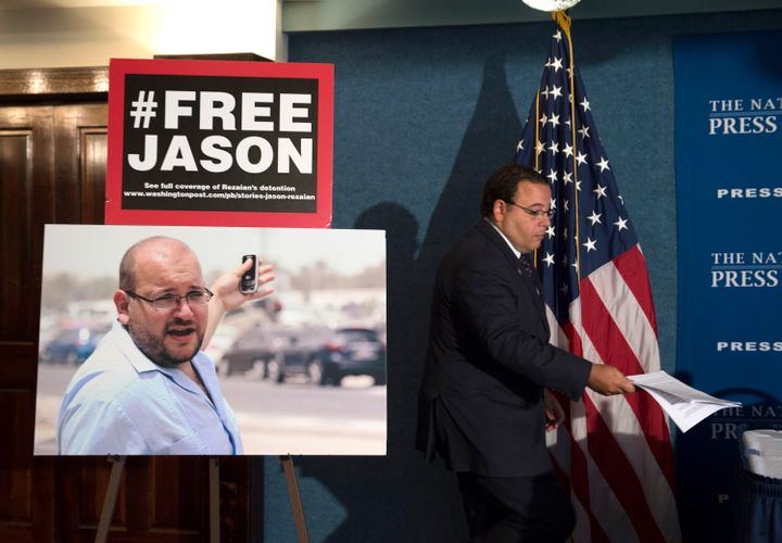&nbsp; <span>Jason Rezaian has been imprisoned in Iran for more than a year. His family, members of the U.S. government and h
