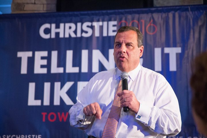 Republican presidential candidate and New Jersey Gov. Chris Christie has argued thatthe Federal Reserve's monetary poli