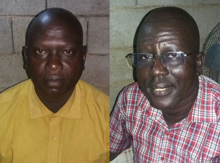 <span>The Rev. Michael Yat, left, and the Rev. Peter Reith, two South Sudanese Presbyterian Evangelical Church pastors who fa