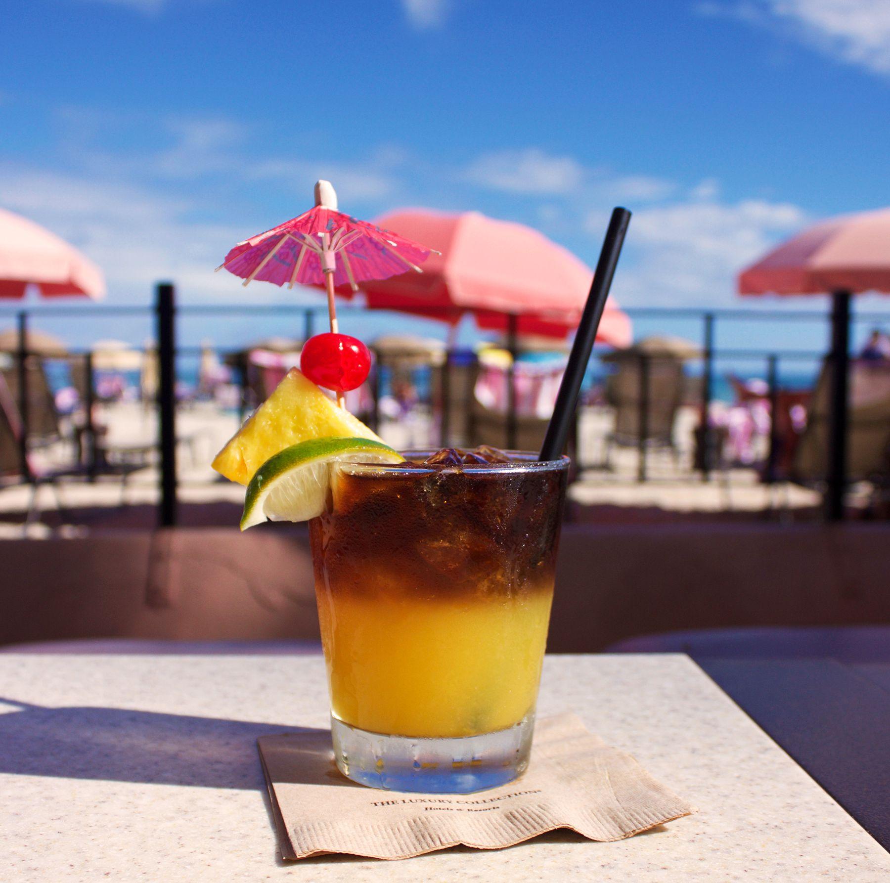 <p>The Royal Hawaiian's Scratch Mai Tai from their famed Mai Tai Bar in Waikiki.</p>