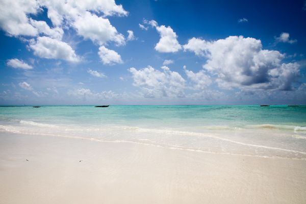 """Venture to the islands of <a href=""""http://jambiani-beach.com/"""">Zanzibar</a>for white-sand treks you won't forget."""