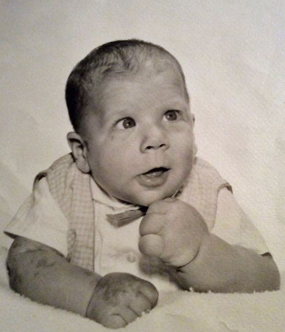 Jeff Dabe as a baby.