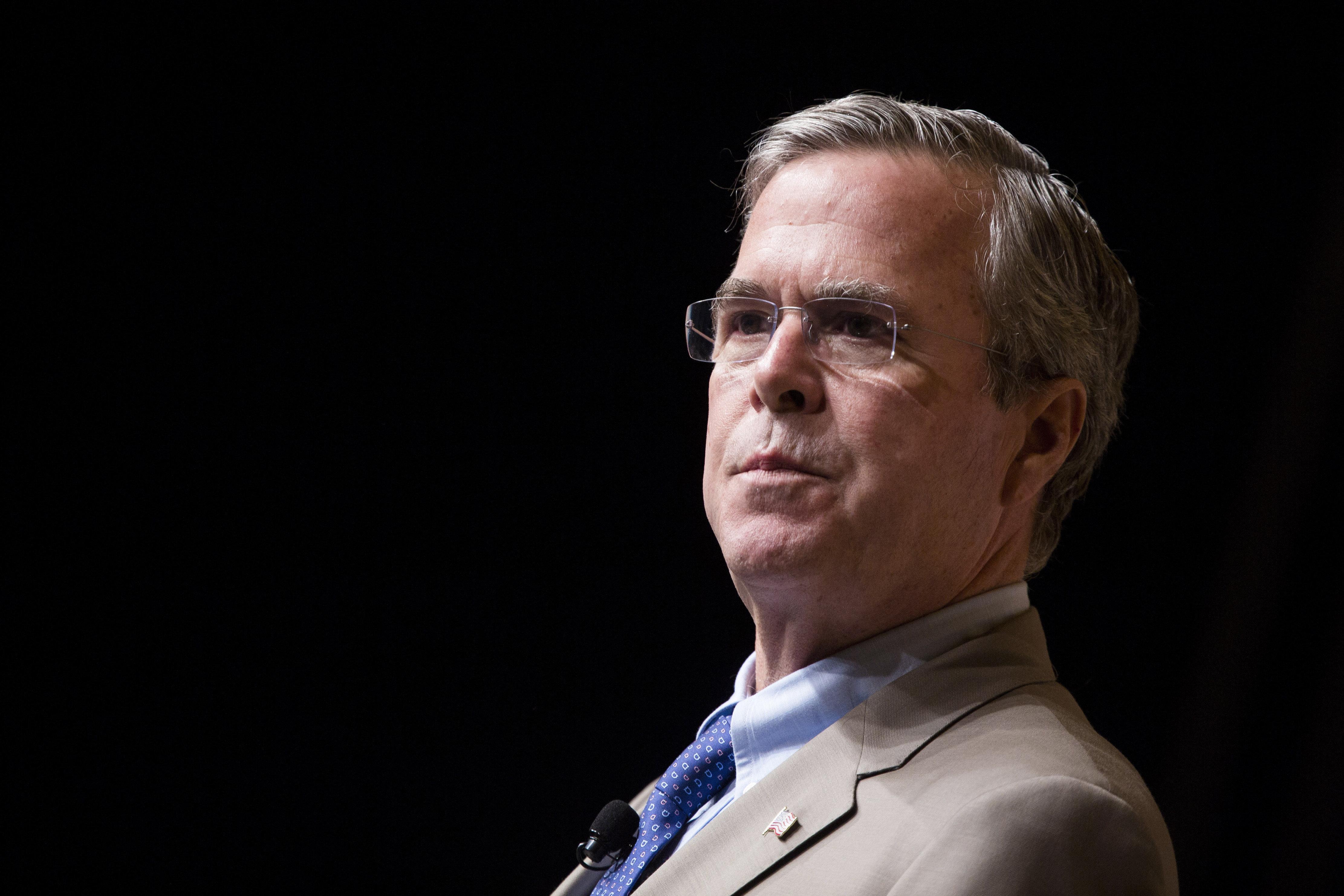 <p>Republican presidential candidate Jeb Bush.</p>