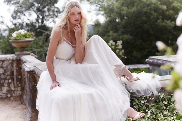 "<a href=""http://www.bhldn.com/product/charlotte-gown"">Charlotte gown by Watters</a>, $1,850"