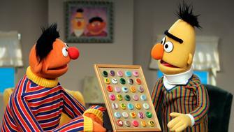 Ernie & Bert-Muppet Inserts-Kid Inserts with Frank Oz & Steve Whitmire - Sesame Street at Kaufamn Astoria Studios, Season 37