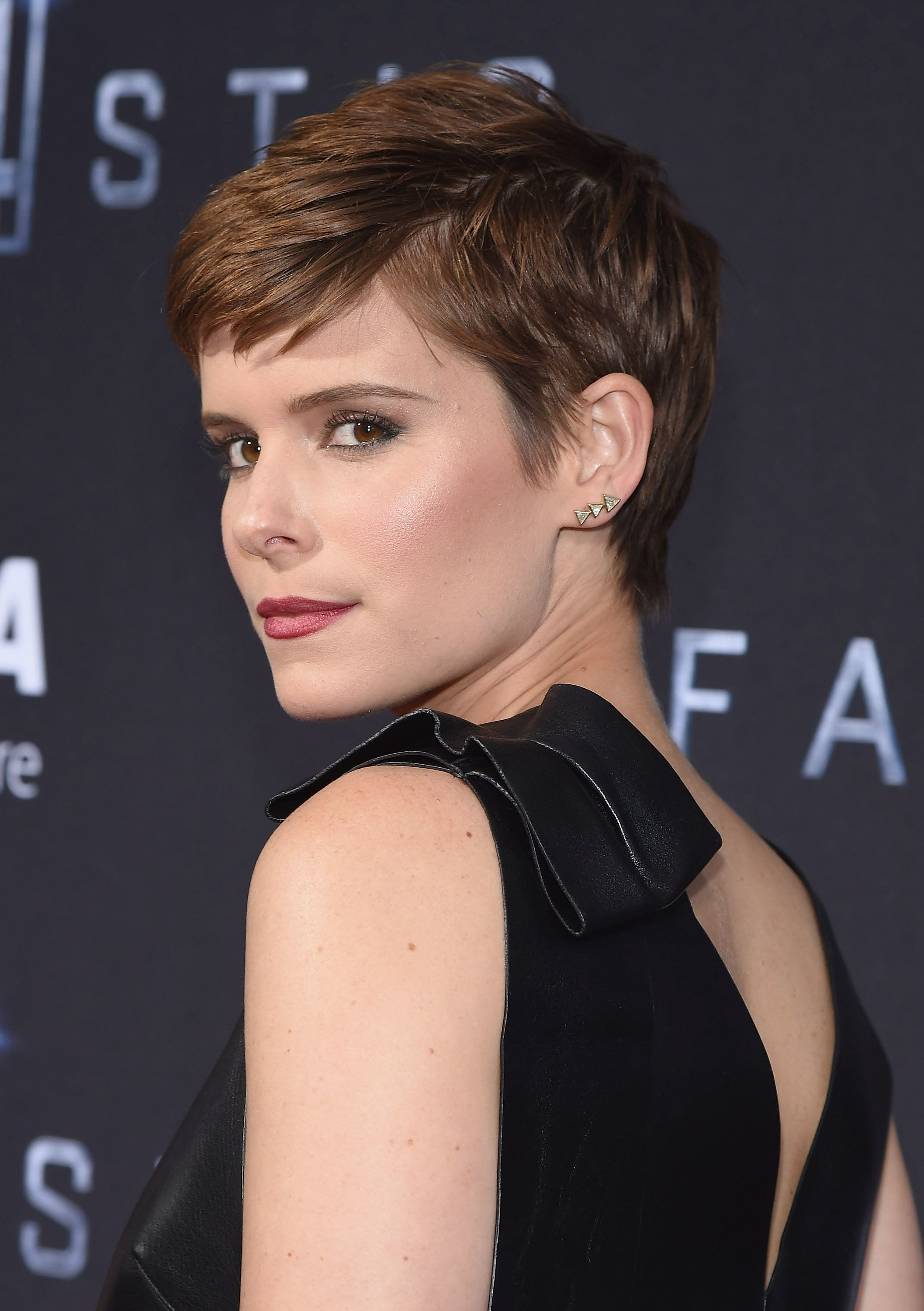 NEW YORK, NY - AUGUST 04:  Actress Kate Mara attends the 'Fantastic Four' New York Premiere - Inside Arrivals at Williamsburg Cinemas on August 4, 2015 in New York City.  (Photo by Gary Gershoff/WireImage)