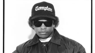 CIRCA 1990: American rapper Eazy-E poses. (Photo by Michael Ochs Archives/Getty Images)