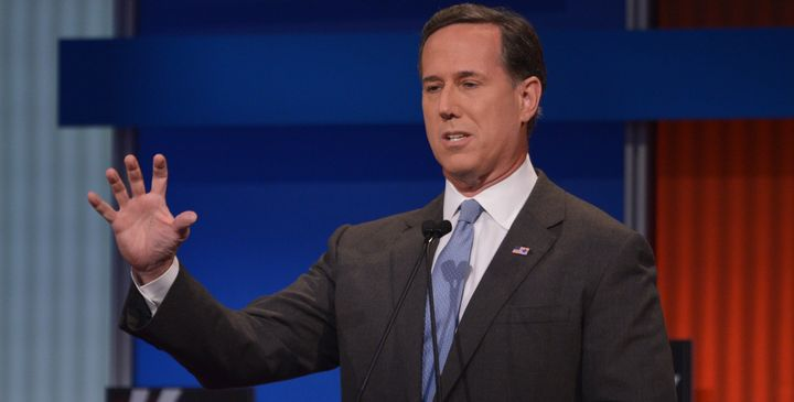 "GOP presidential candidate Rick Santorum called the Supreme Court's recent ruling on marriage equality a ""rogue Supreme"