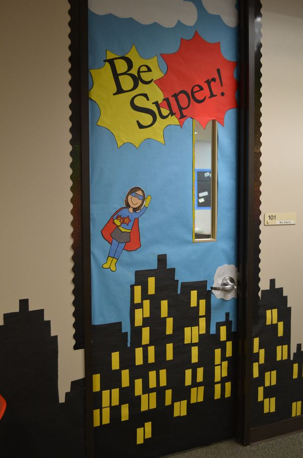 19 back to school classroom ideas that will knock your for Classroom wall mural ideas