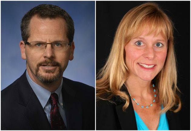 """<span class='image-component__caption' itemprop=""""caption"""">Michigan tea party state House Rep. Todd Courser resigned overnight over a sex scandal and coverup involving Rep. Cindy Gamrat. She wasexpelled from office.</span>"""