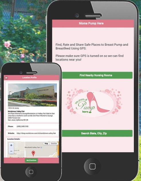 <p>The app provides moms with comfortable nursing locations when they're out and about.</p>
