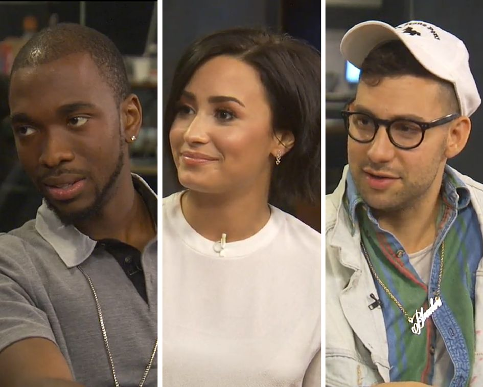 Jay Pharoah, Demi Lovato and Jack Antonoff talk with HuffPost Live.