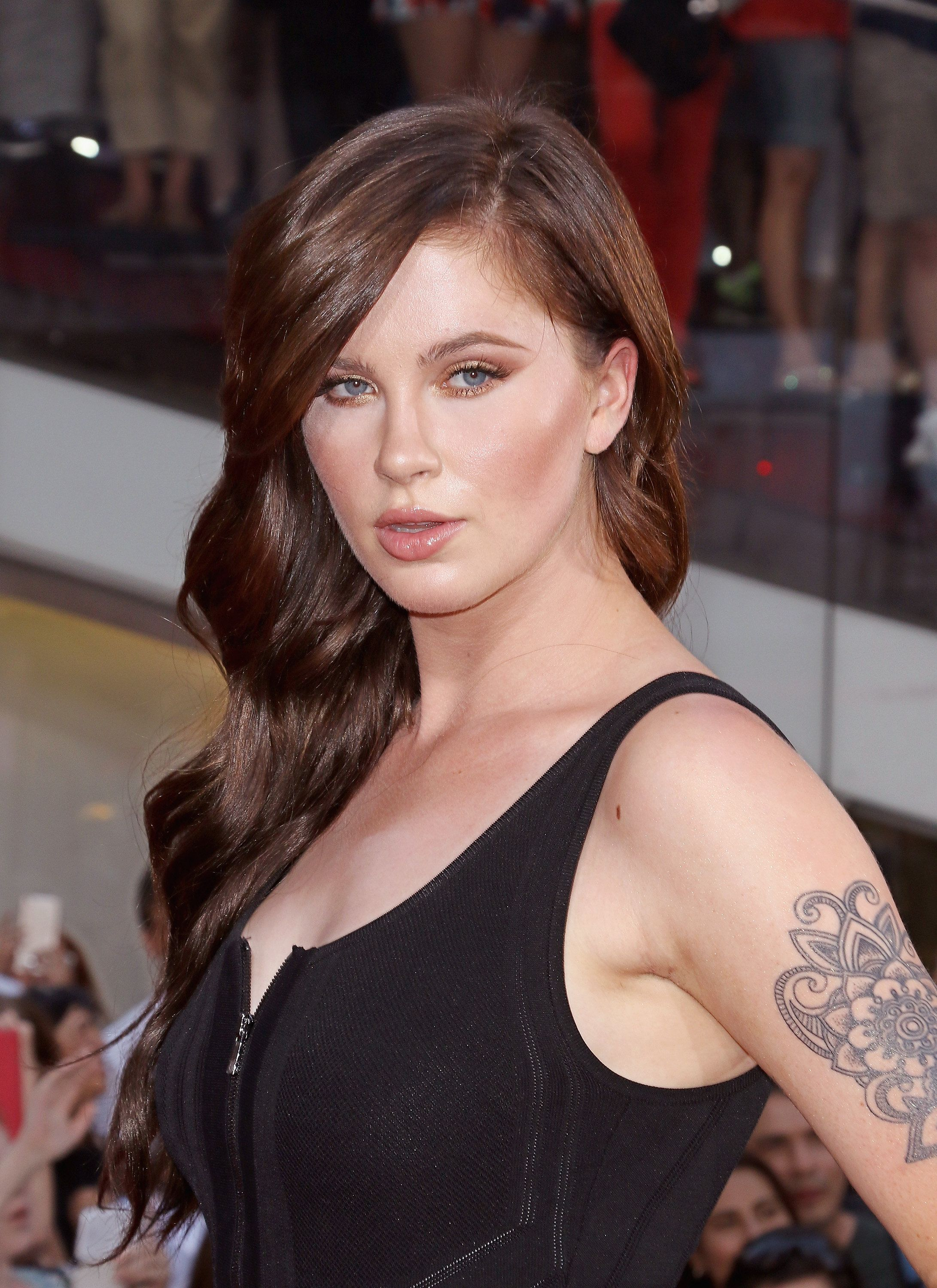 NEW YORK, NY - JULY 27:  Ireland Baldwin attends the 'Mission Impossible: Rogue Nation' New York premiere at Times Square on July 27, 2015 in New York City.  (Photo by Jim Spellman/WireImage)