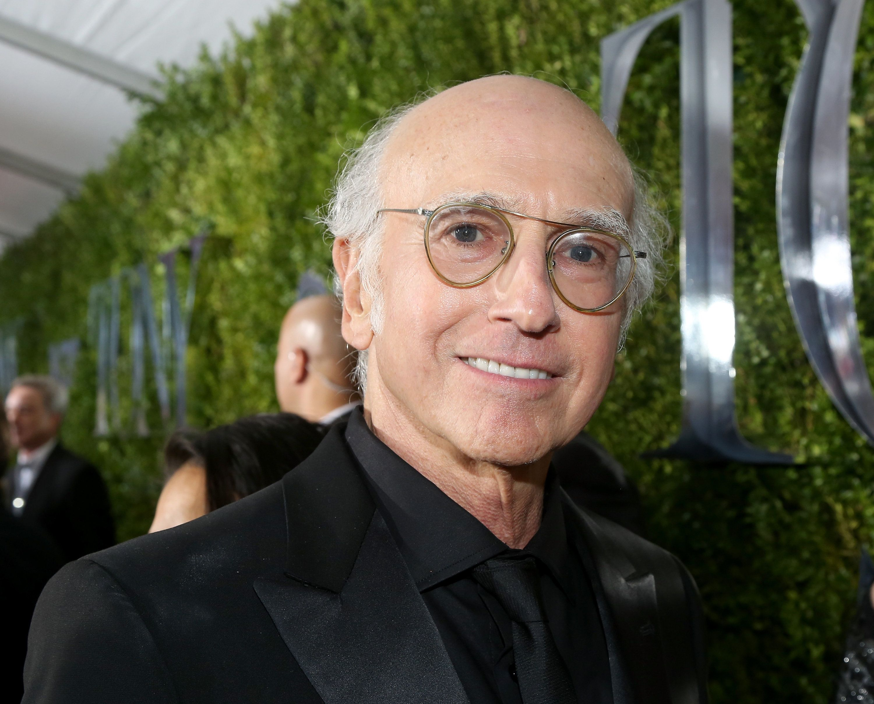 NEW YORK, NY - JUNE 07:  Larry David attends the American Theatre Wing's 69th Annual Tony Awards at Radio City Music Hall on June 7, 2015 in New York City.  (Photo by Bruce Glikas/FilmMagic)