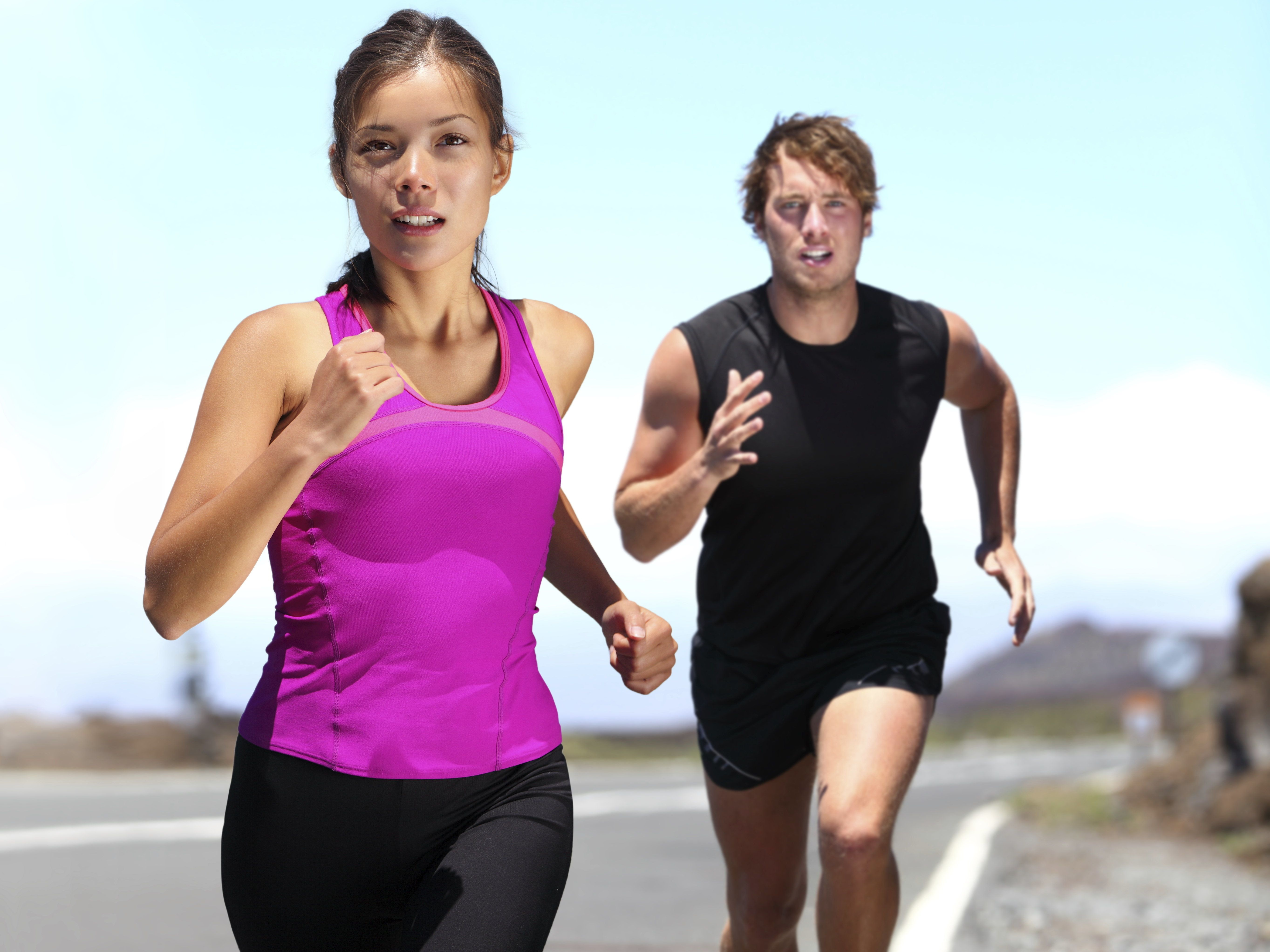 <p>Most runners think about their pace and distance; pain and discomfort; and their running environment, study shows.</p>