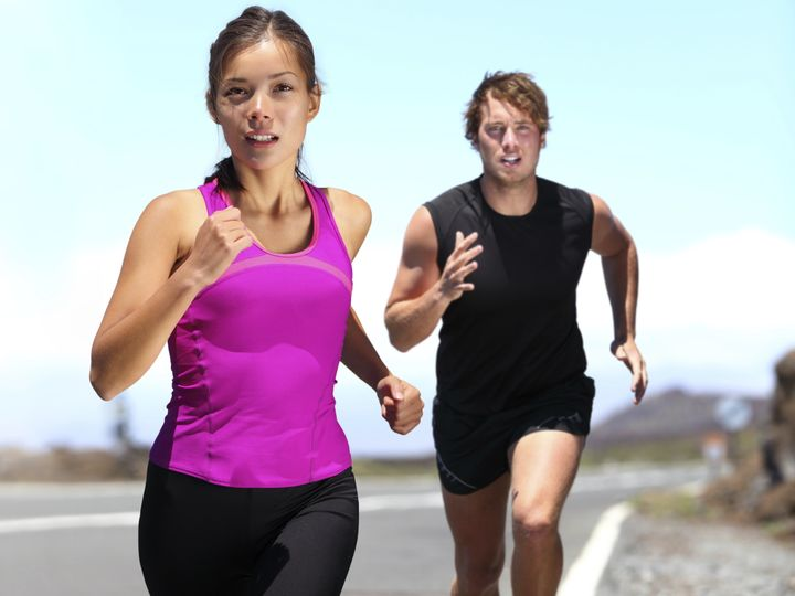 Most runners think about their pace and distance; pain and discomfort; and their running environment, study shows.