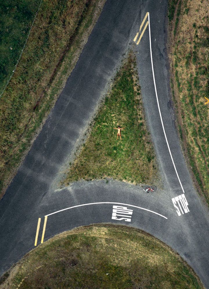 Staggering Aerial Photos Show Nude Bodies From A Birds-Eye View  Huffpost-5383