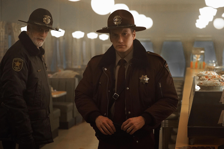 Ted Danson and Patrick Wilson in Season 2 of 'Fargo.'