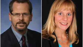 <p>The two Michigan state representatives are being investigated in the wake of their affair.</p>