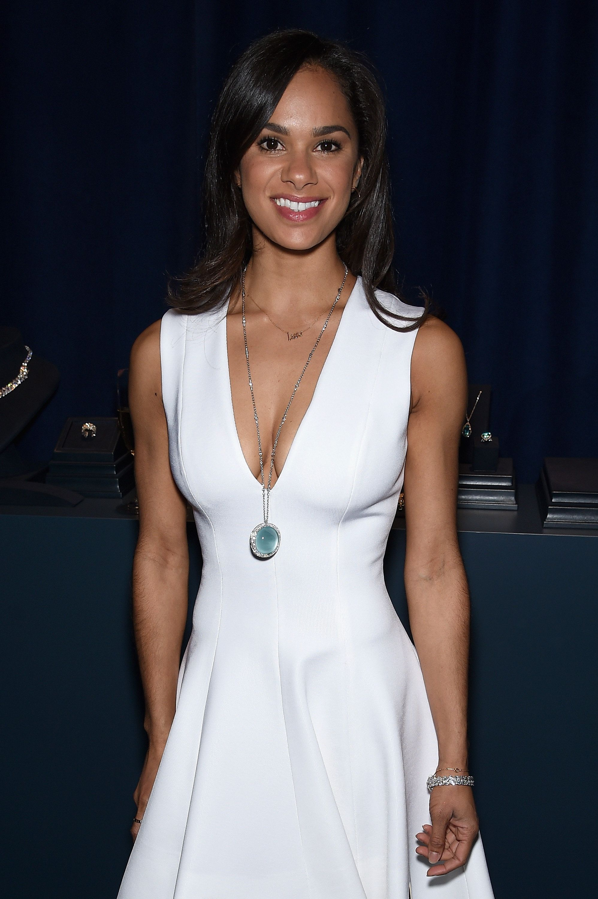 NEW YORK, NY - APRIL 15:  Ballet dancer Misty Copeland attends the 2015 Tiffany Blue Book dinner on April 15, 2015 in New York City.  (Photo by Dimitrios Kambouris/Getty Images for Tiffany & Co.)