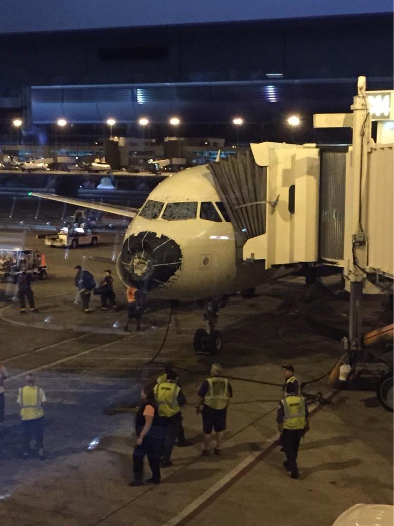 Airplane Damage