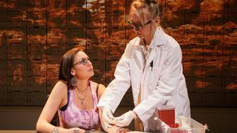 "DeLanna Studi and Tina Benko star in ""Informed Consent."""