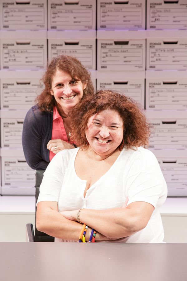 Playwright Deborah Zoe Laufer and director Liesl Tommy.