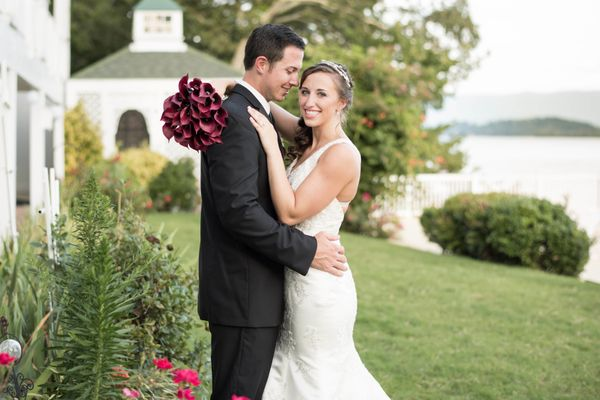 """""""Brett and Jenna had a beautiful lakeside wedding at the Mountain Harbor Inn in Tennessee."""" - Shane and Beth Hawkins of <a hr"""