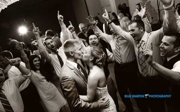 """""""Genna and Steve Roskey's wedding on Saturday. The two were married in Hermitage, Pennsylvania."""" - Christin Berry of<a"""