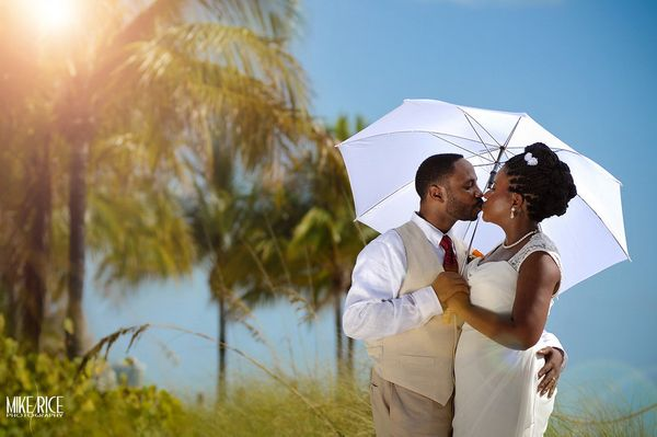 """""""Dadeline and Freud's Ft. Lauderdale beach wedding."""" - Mike Rice of<a href=""""http://www.mikericephotography.com/"""">Mike R"""
