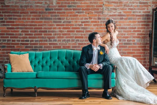 """""""Dan and Amanda's urban-style wedding at The Standard Knoxville was nothing short of perfection!"""" - Nikki + Cris of&nbs"""