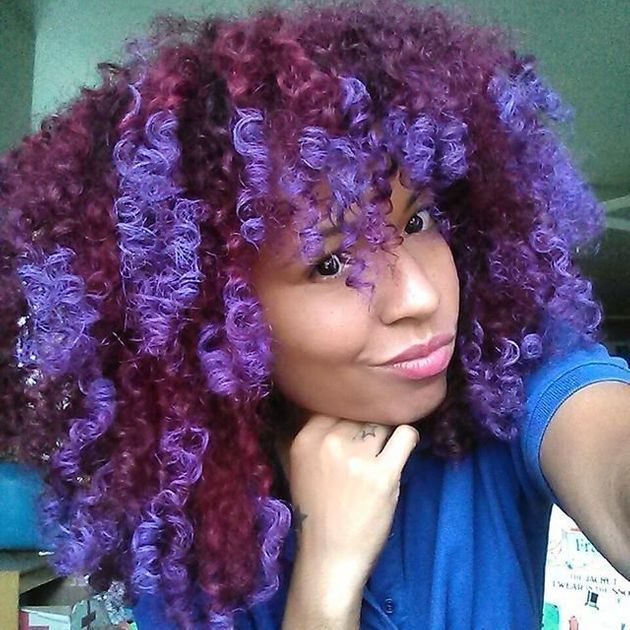 Meet Naturallytash The Queen Of Temporary Hair Colors