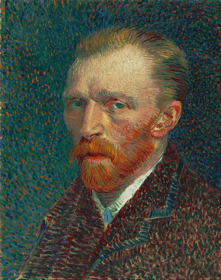 <span>Vincent van Gogh, Self-Portrait, 1887</span>
