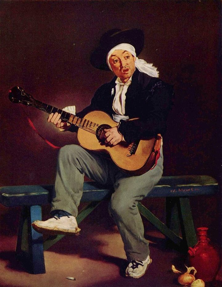 <span>Edouard Manet, The Spanish Singer, 1860</span>