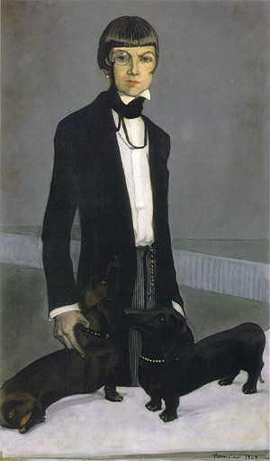 <span>Romaine Brooks, Una, Lady Troubridge, 1924&nbsp;</span>