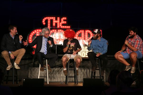 Comedy Bang! Bang! delivered laughs at the Barbary Stage on Sunday.