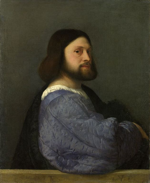 """<span class='image-component__caption' itemprop=""""caption""""><span style=""""font-family: Arial, Helvetica, sans-serif; font-size: 14px; line-height: 20px; background-color: #eeeeee;"""">Titian, Portrait of a Man, 1510</span></span>"""