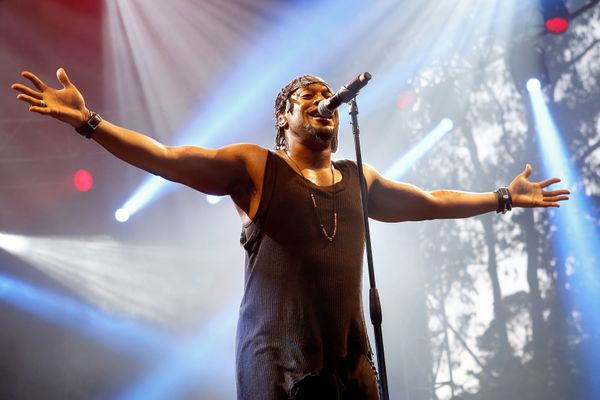 D'Angelo, who in December returned to the music scene after a 14-year hiatus with his album Black Messiah, dedicated his song