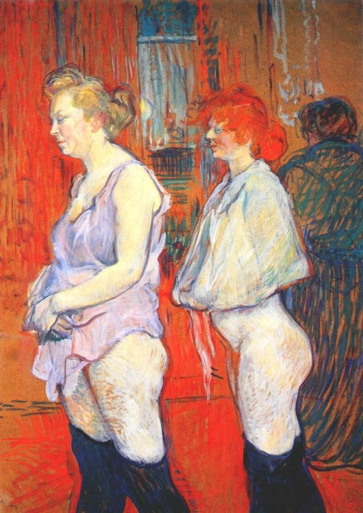 <span>Henri de Toulouse-Lautrec, The Medical Inspection, 1894</span>