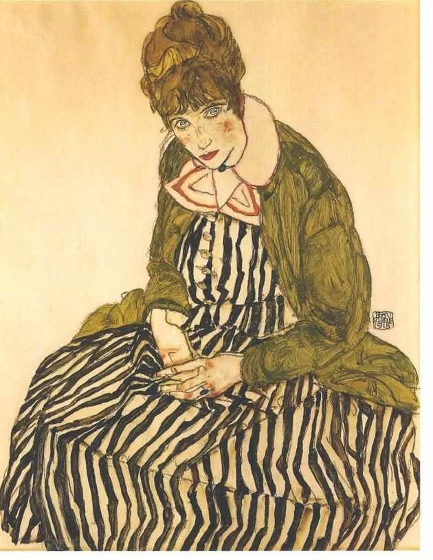 "<span class='image-component__caption' itemprop=""caption""><span style=""font-family: Arial, Helvetica, sans-serif; font-size: 14px; line-height: 20px; background-color: #eeeeee;"">Egon Schiele, Portrait of Edith Schiele, 1915</span></span>"