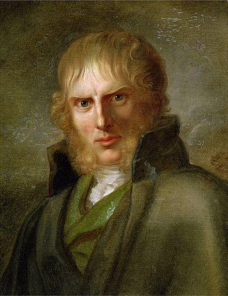 """<span>Gerhard von Kugelgen, Portrait of Caspar David Friedrich, 1810â€""""20</span>"""