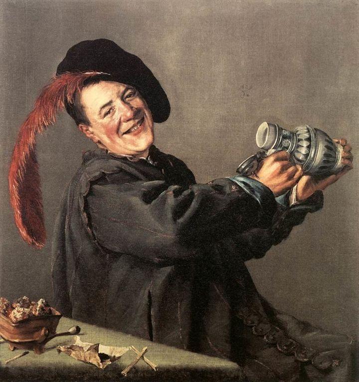 <span>Judith Leyster, Jolly Toper, 1629&nbsp;</span>