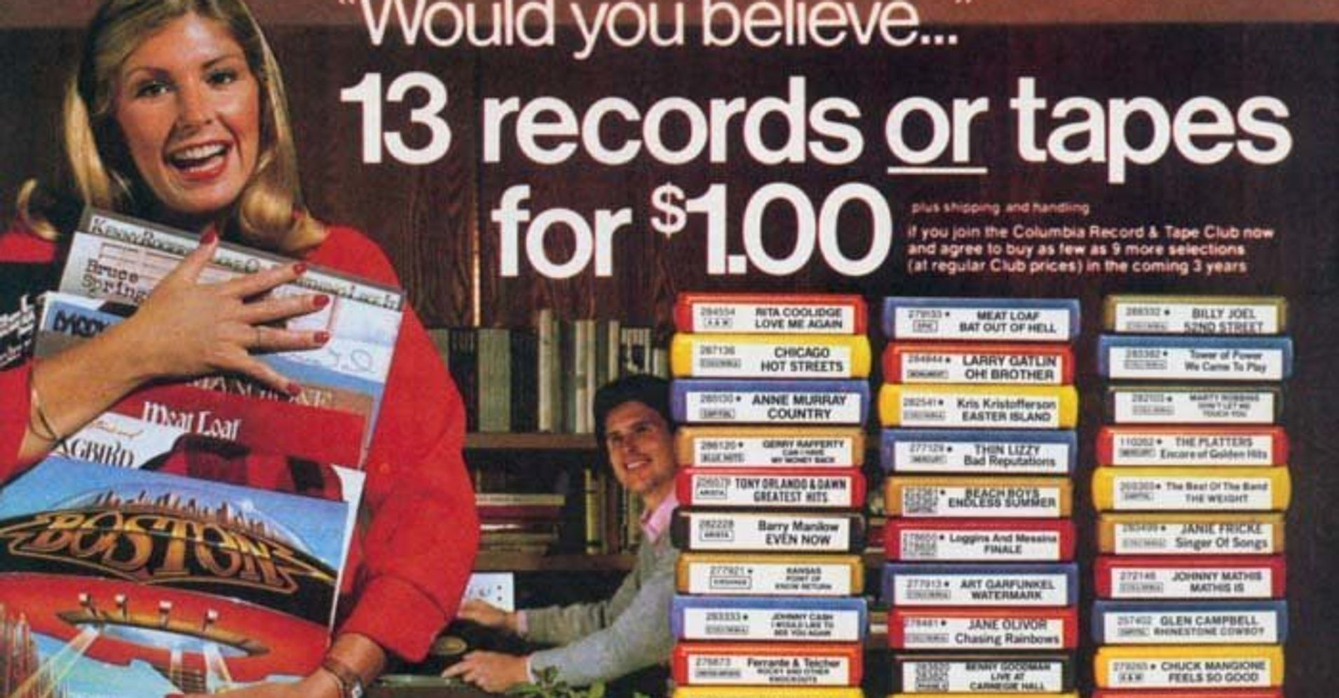 Columbia House Owner Files For Bankruptcy Huffpost
