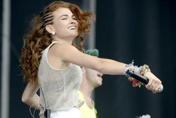 """WhileOutside Landsis short on female-fronted acts -- <a href=""""http://www.usatoday.com/story/life/music/2015/04/05"""