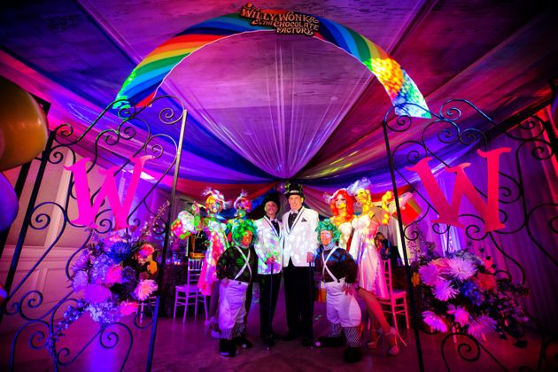 Gay Couple's Wedding Channels 'Charlie And The Chocolate Factory'