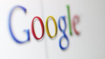 UNITED STATES - AUGUST 06:  The Google internet front page logo is shown Friday August 6, 2004. Google Inc.'s initial public offering, the largest ever for an Internet company, may be delayed after California securities regulators began an investigation of the company over unregistered shares it issued.  (Photo by Steven Brahms/Bloomberg via Getty Images)
